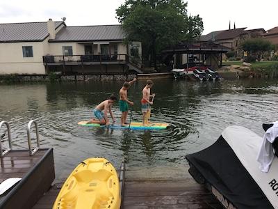 Off the Dock fun!