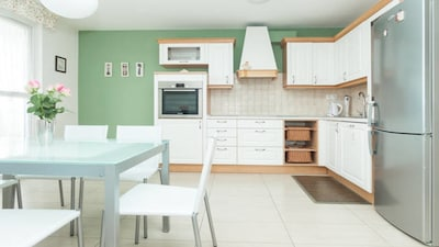 Kitchen and dining room, Apartment Sun, Split, Croatia