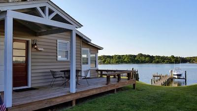 Waverly Cottage - waterfront property on Cobb Island, MD