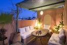 Terrasse espace salon