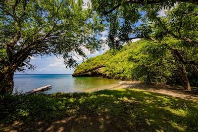 Baie de Marigot, Sainte-Lucie