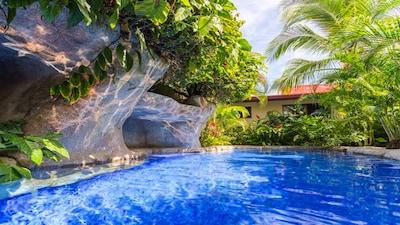 Beautiful crystal clear tropical pool!