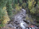 Emigrant Creek! Clean, pure, clear and full of Brook Trout!!!