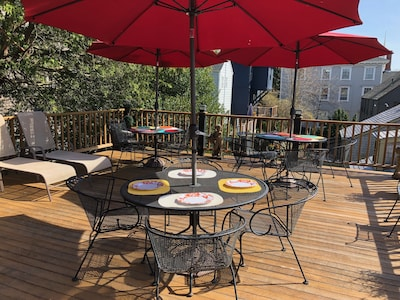 Enjoy our fabulous 2nd floor deck with nearby pantry kitchen for outdoor entertaining.