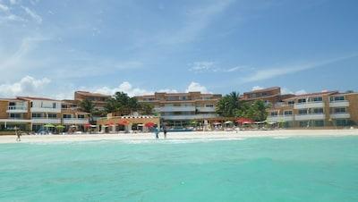 Quartier Phase1 de Playacar, Playa del Carmen, Quintana Roo, Mexique