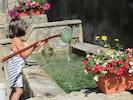 la pêche aux tétards