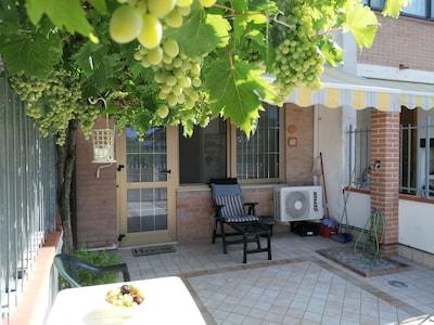 Lido del Cormorano, Comacchio, Emilia-Romagna, Italy