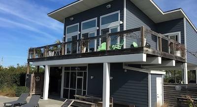 Beach-side of House