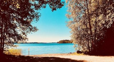 Strand am Fegen- nur 2 Gehminuten vom Ferienhaus entfernt
