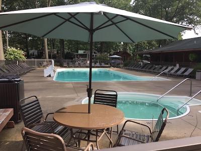 Resort Pool and Spa