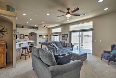 Escape to Bullhead City at this 4-bedroom, 2-bath vacation rental home.