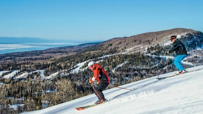 Lutsen Mountains offers the best skiing this side of the Rockies