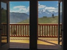 Majestic mountain views right from your Great Room and front deck.