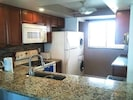 Beautiful granite countertops, a washer and dryer-all the conveniences of home!