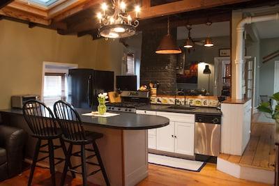 Kitchen into TV Room