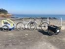 Remorque et vélos à disposition