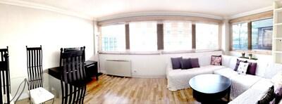 Living room (panoramic shot)
