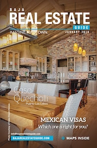 Casa Quecholli featured on the front page of January 2019 magazine.
