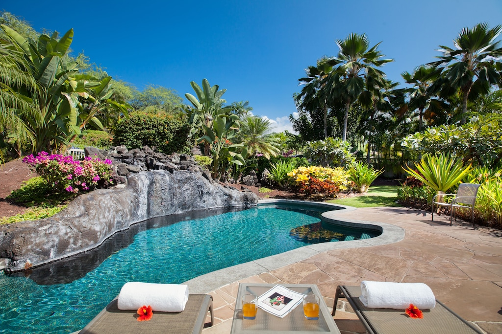 This villa rental is one of our suggestions on where to stay on Big Island Hawaii