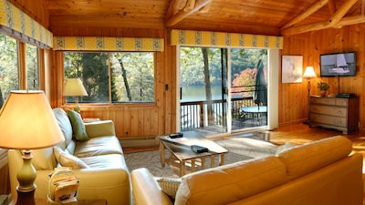 Natural surroundings, both inside and out