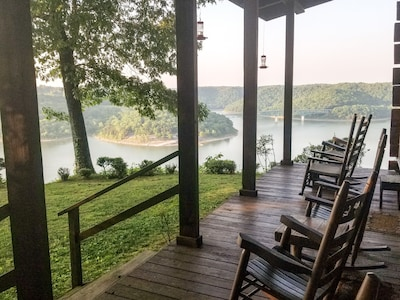 Lake views from the comfort of your rocking chair