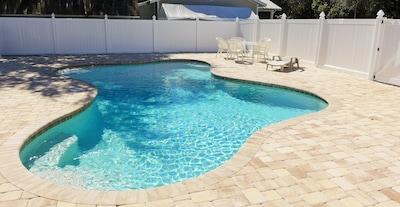 heated community pool - new at Villa Barra