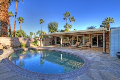 PRIVATE SALT WATER POOL AND PATIO