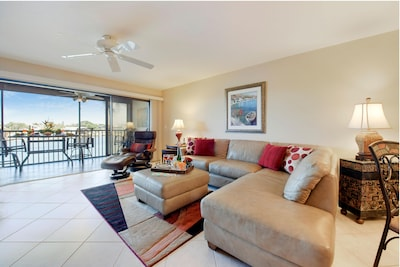 Looking Out at Waterway from Living Area