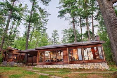 The Beautiful Log Cottage