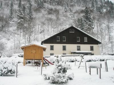vue d'ensemble hiver