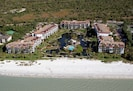 Point Santo de Sanibel Complex sits directly on the beach