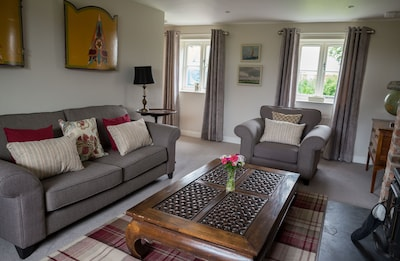 Sitting room- everything is brand new in June 2016
