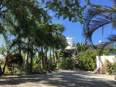 Entrance to Casa Blanca