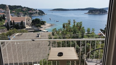 Dream holiday apartment, Hvar center with sea view