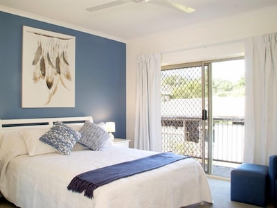 Queen Bedroom with Juliet Balcony