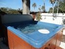 Hot tub ready at 101 degrees