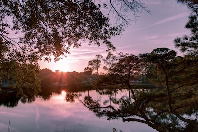 Gorgeous Sunsets over Pond WILL KEEP YOU COMING BACK