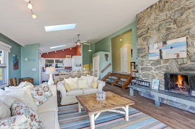 Open living area with plenty of room for all