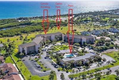 Sea Palms, Jupiter, Floride, États-Unis d'Amérique