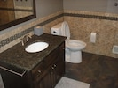 Newly renovated bathrooms.  Main bathroom is huge with a large walk-in shower.