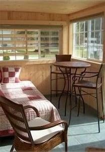 heated sun porch