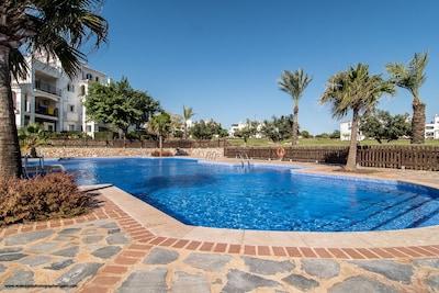 View of Swimming Pool looking NE