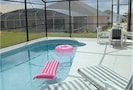 The Screen Enclosed Solar Heated Pool