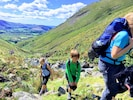 Hiking in the Lake District is world-famous. This is Wasdale, 20 mins drive away