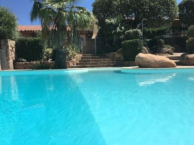 location villa porto vecchio avec piscine
