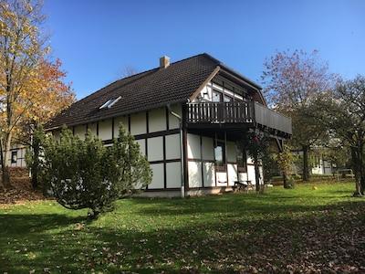 Familienferienhaus am Naturpark Kellerwald Edersee in der Nähe von Skigebiet