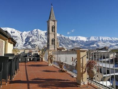 Gare de Sulmona-Introdacqua, Sulmona, Abruzzes, Italie