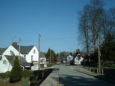 Berriew, Welshpool, Pays de Galles, Royaume-Uni