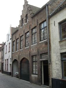 Bruges Town Hall (Stadhuis), Bruges, Flemish Region, Belgium