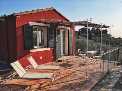 La terrazza dell'appartamento Corbezzolo